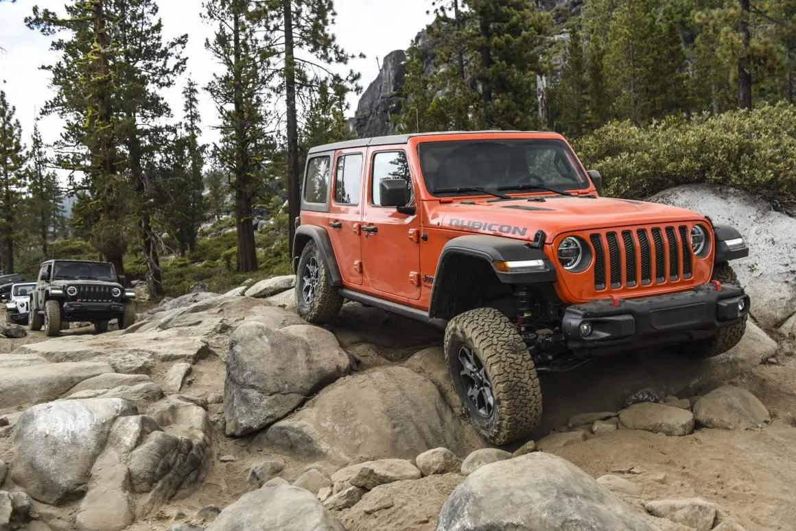 Jeep Wrangler Rubicon dicas off-road