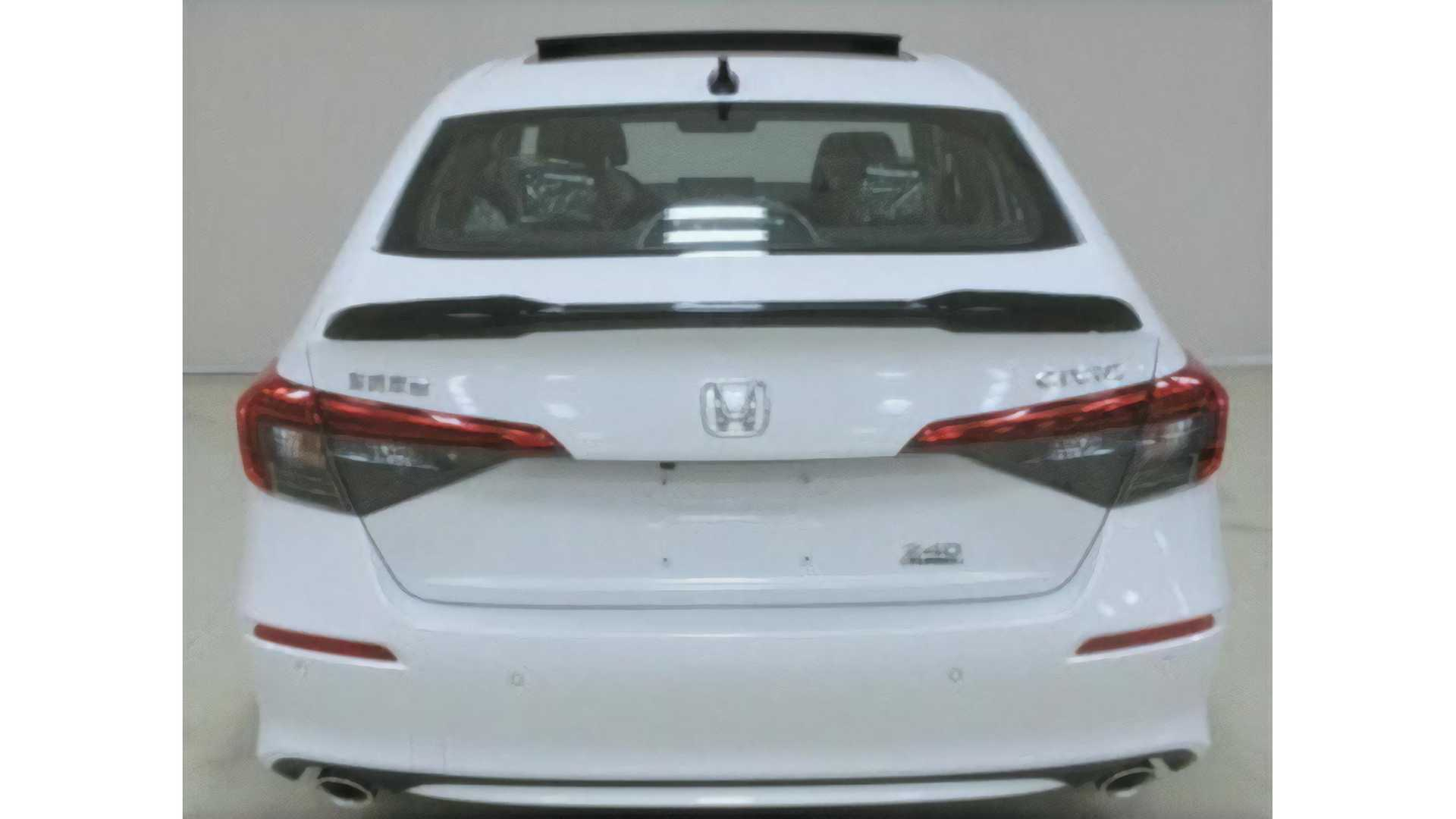 2022 Honda Civic Sedan Production Version For China (1)