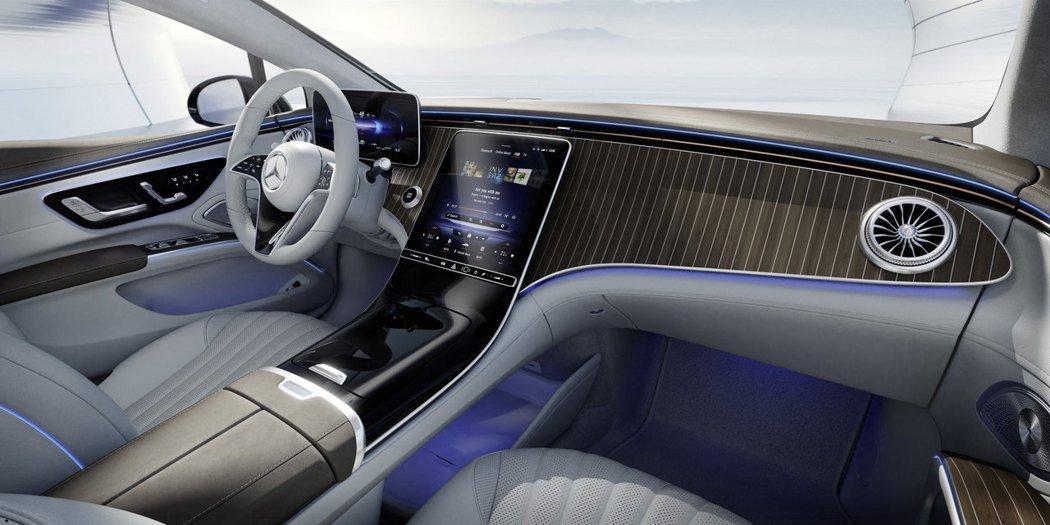 Mercedes Benz Eqs Interior (2)