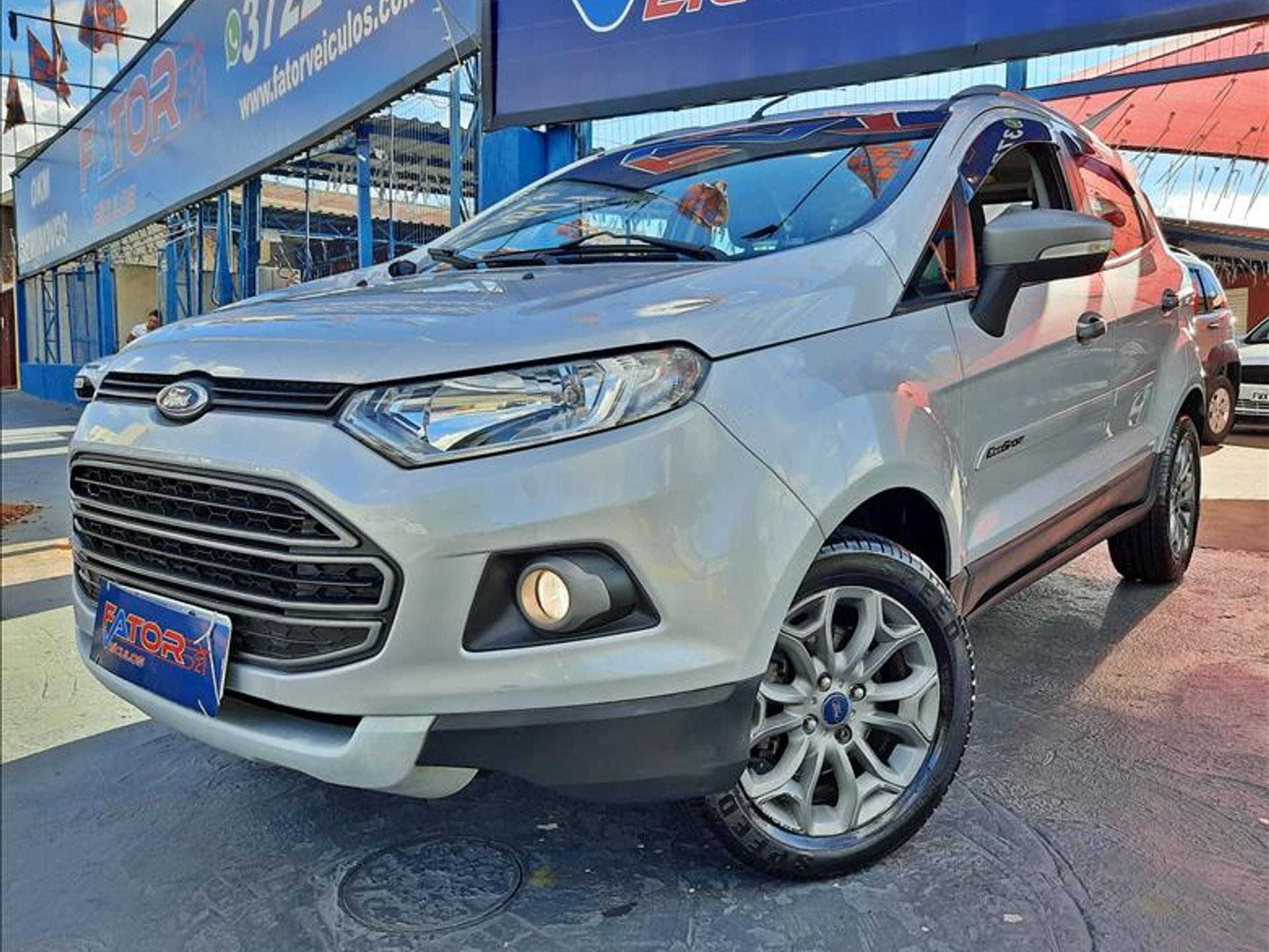 Ford Ecosport 1.6 Freestyle 16v Flex 4p Manual Wmimagem14290723875