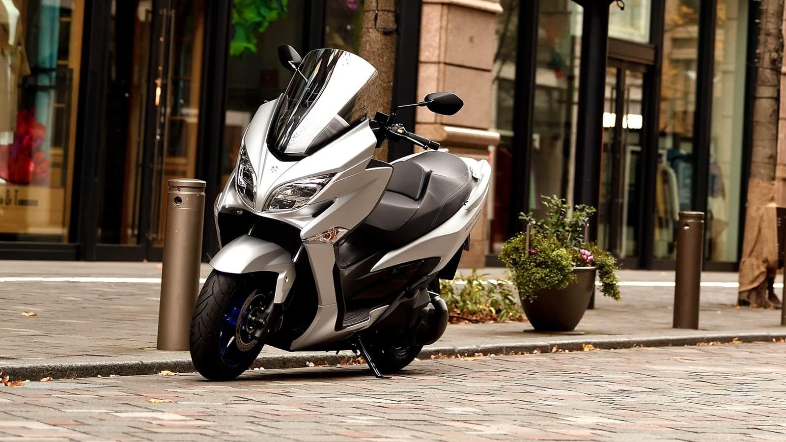 4. Suzuki Burgman 400 2021
