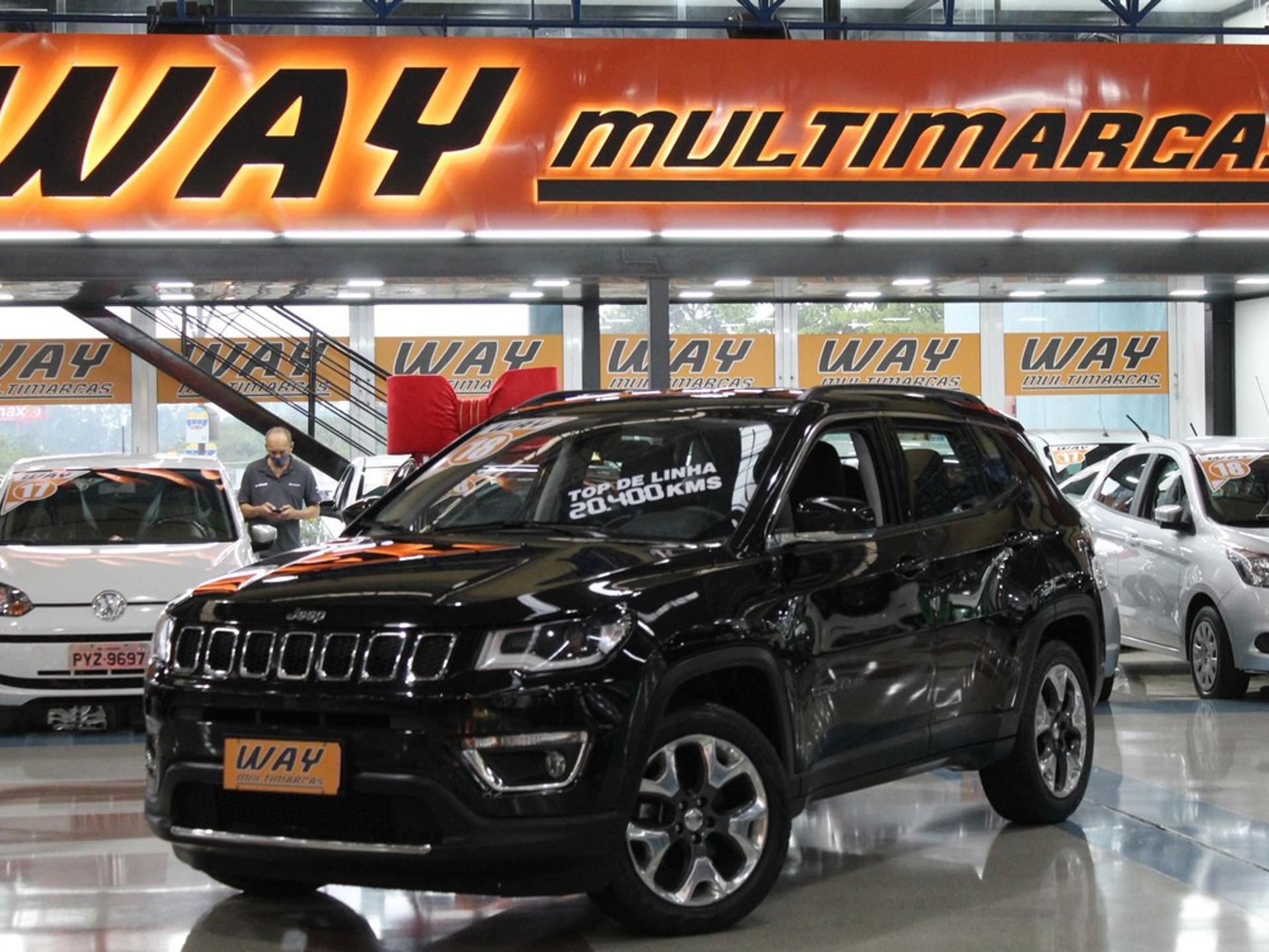 Jeep Compass 2.0 16v Flex Limited Automatico Wmimagem15253353435