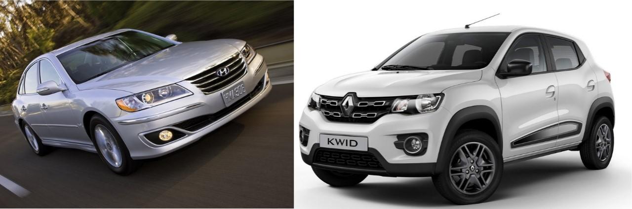 Hyundai Azera 2011 pode ser comprado pelo mesmo preço de um Renault Kwid 0 km