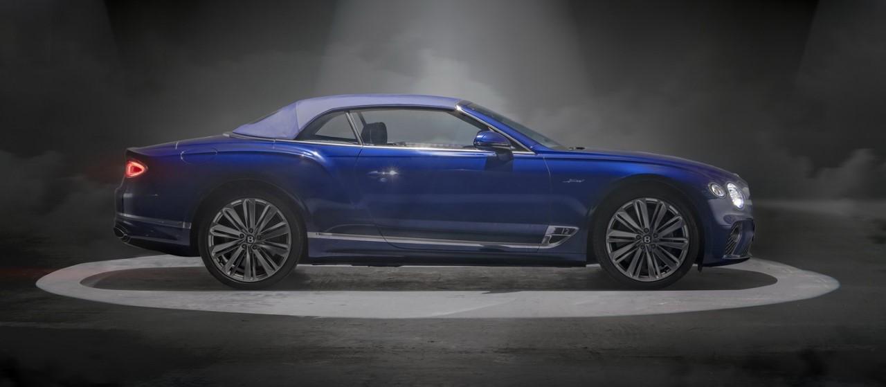 Thumbnail 2021 Bentley Continental Gt Speed Convertible 7