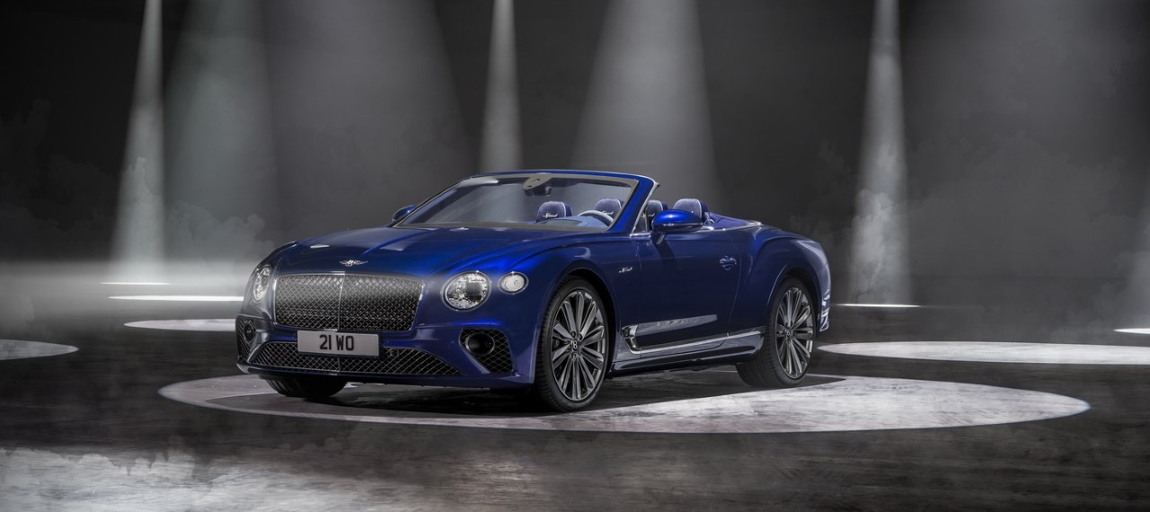 Thumbnail 2021 Bentley Continental Gt Speed Convertible 4