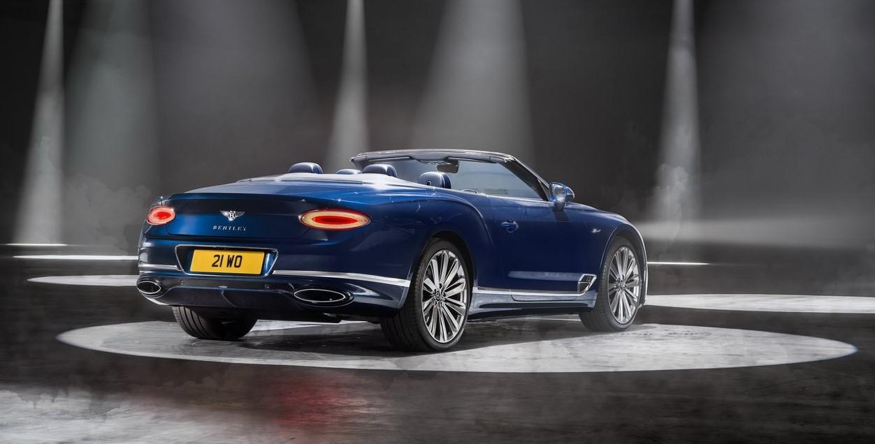 Thumbnail 2021 Bentley Continental Gt Speed Convertible 5