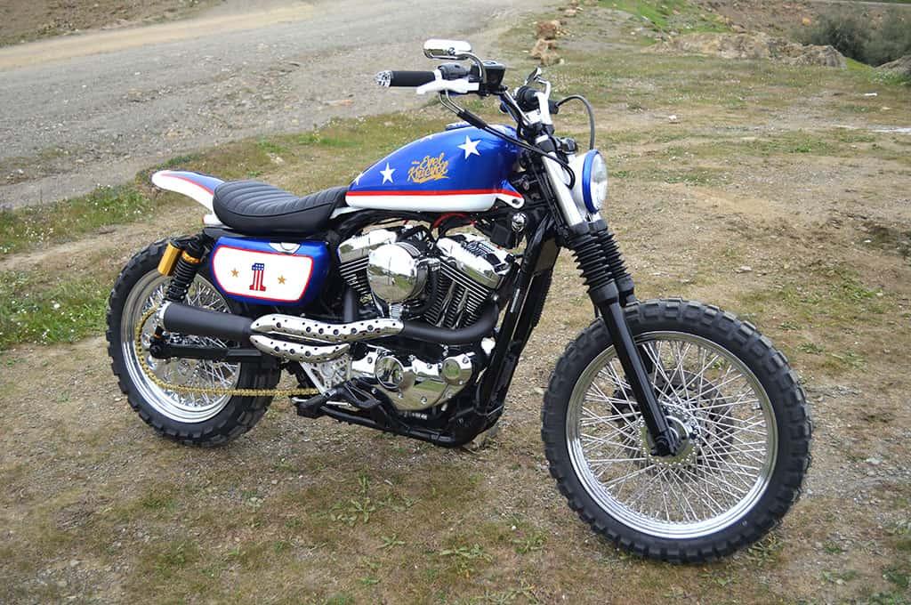5. Harley Davidson Evel Knievel