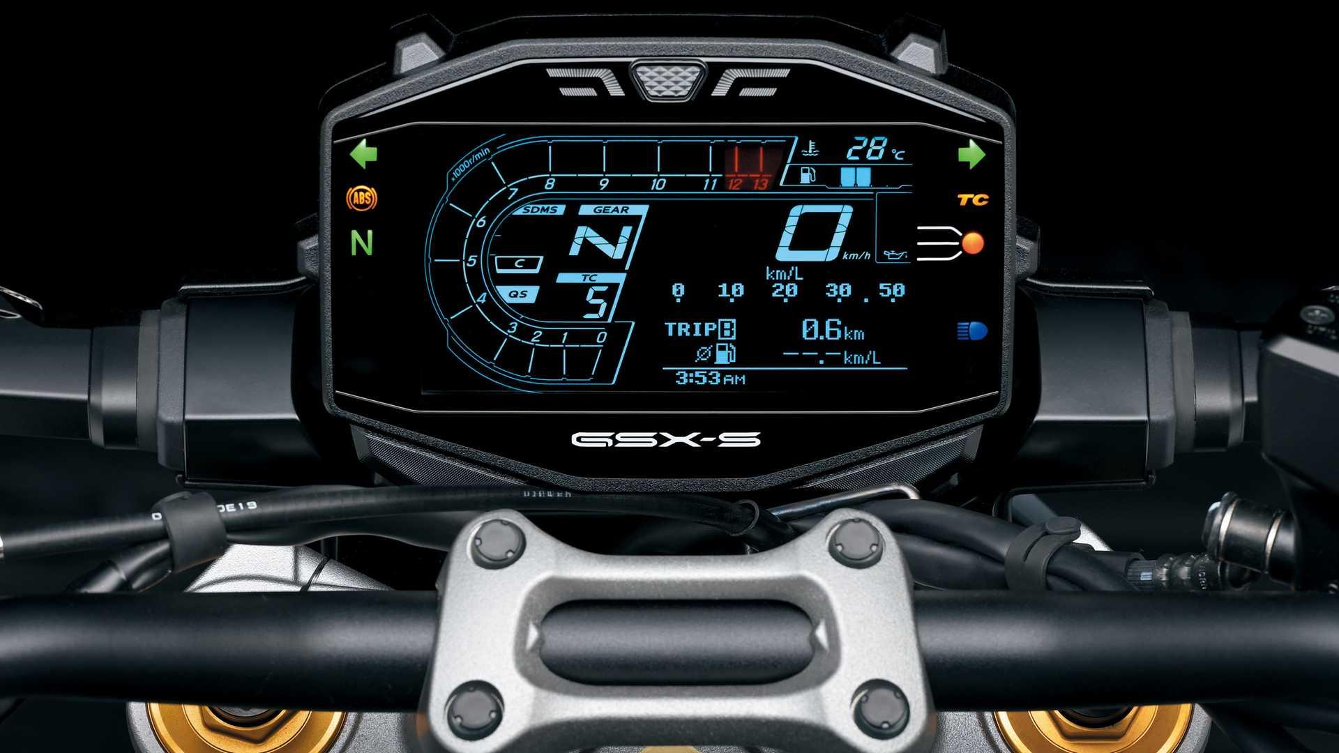 5. Suzuki Gsx S 1.000 2021