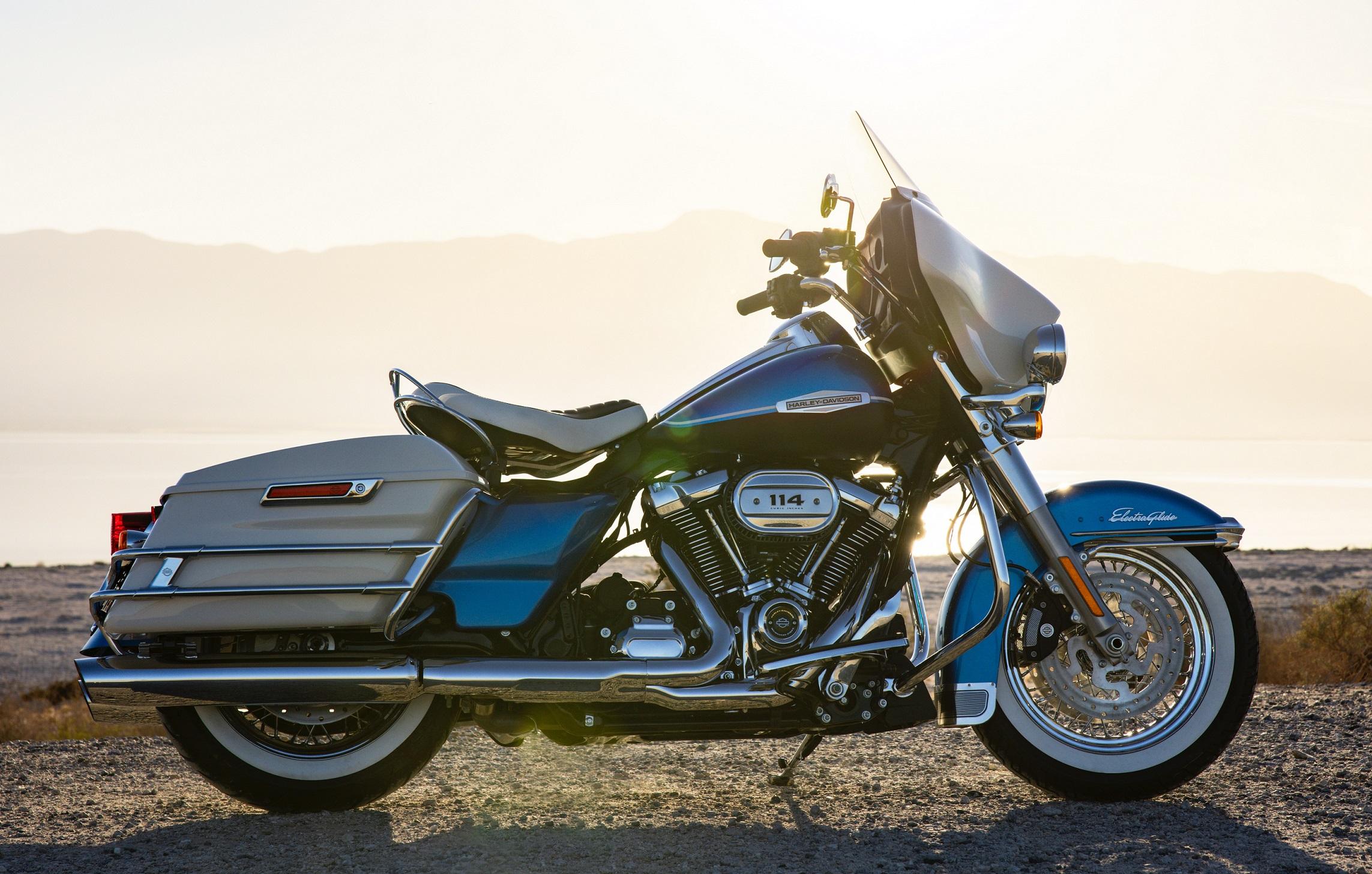 3. Harley Davidson Electra Glide Revival