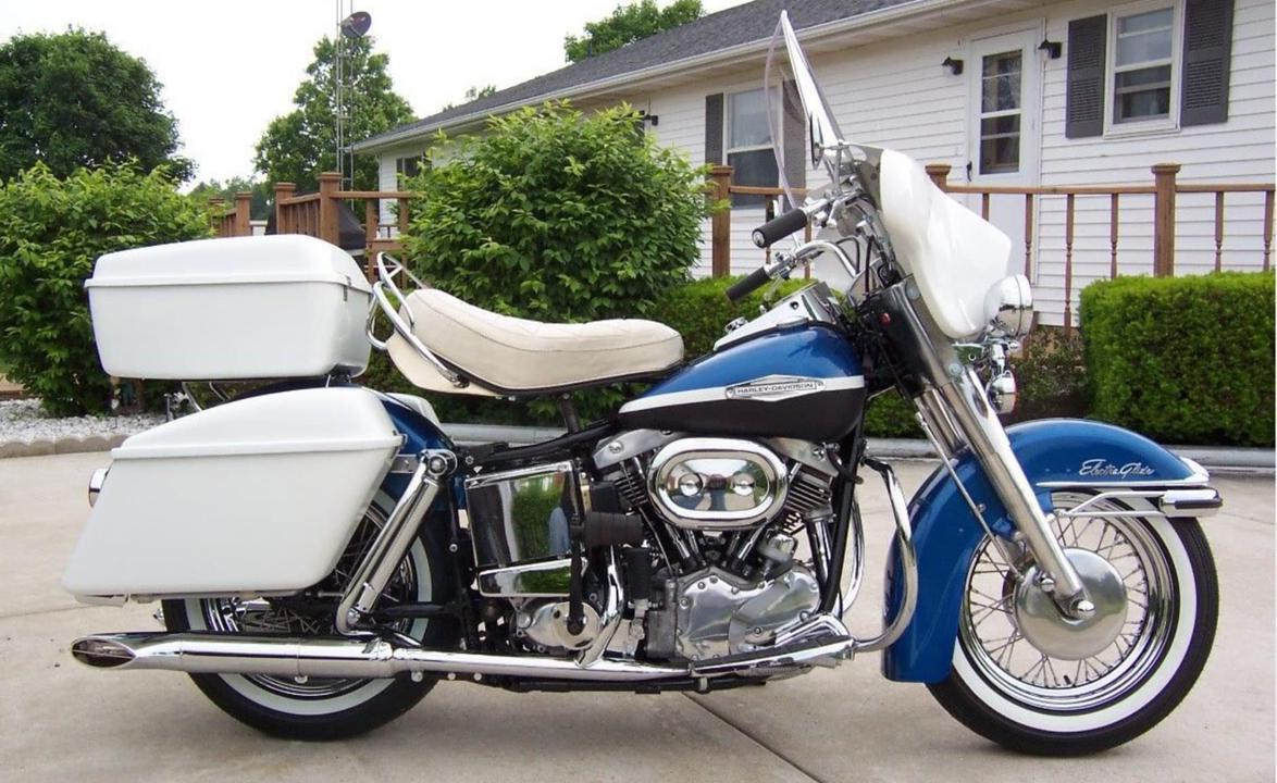 4. Harley Davidson Electra Glide Revival