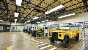 Clínica de Restauração Jaguar Land Roverna fábrica de Itatiaia, Rio de Janeiro