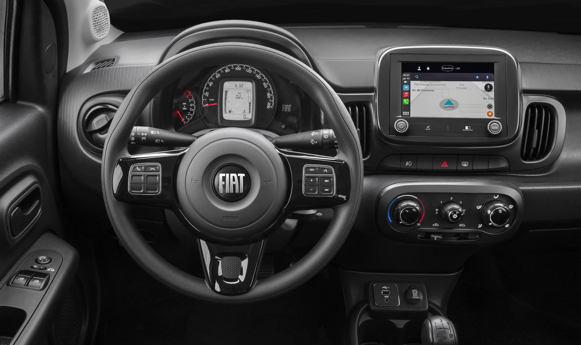 Fiat Mobi 2022 Interior