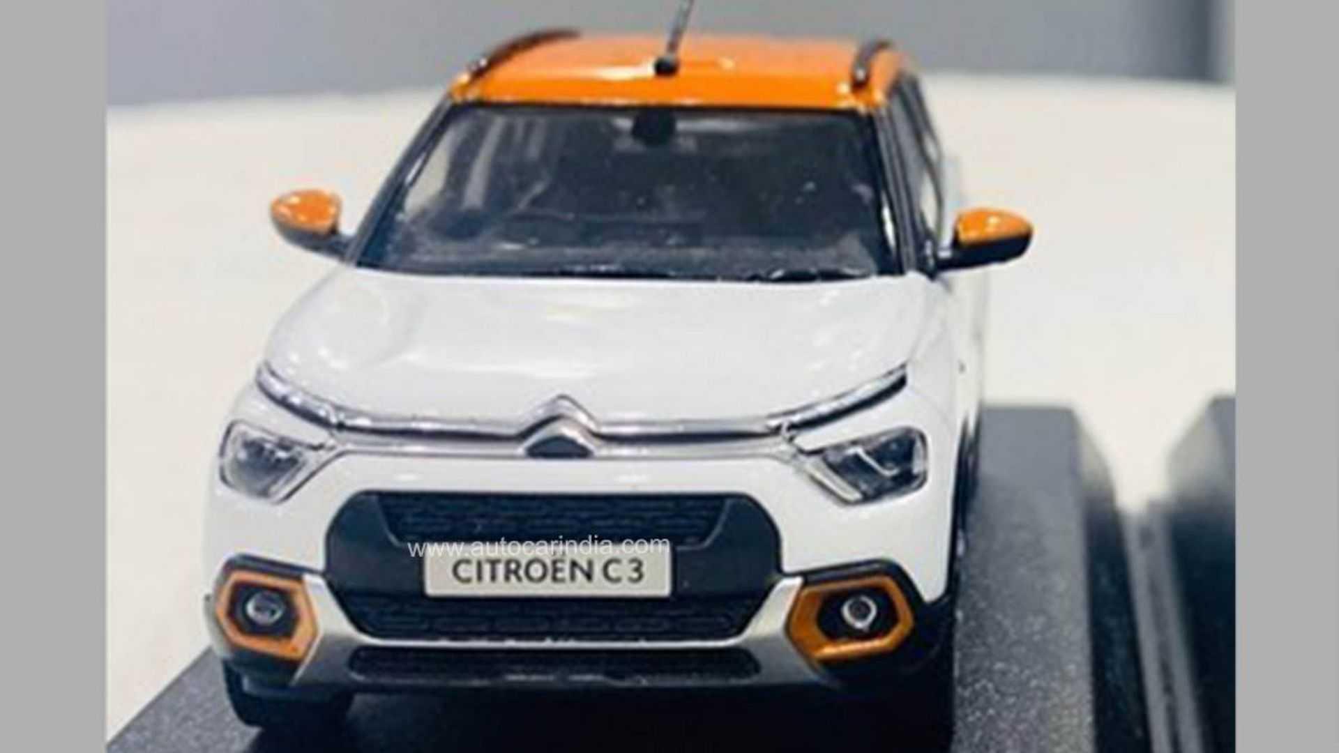 Novo Citroën C3 Autocar Índia Frente