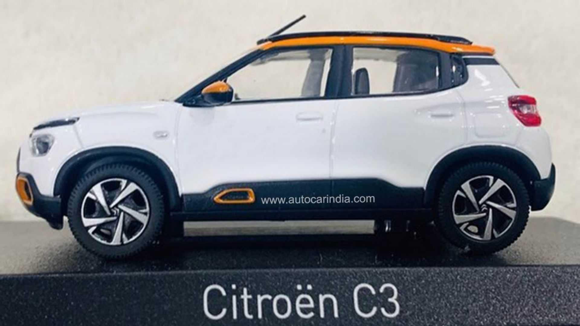 Novo Citroën C3 Autocar Índia
