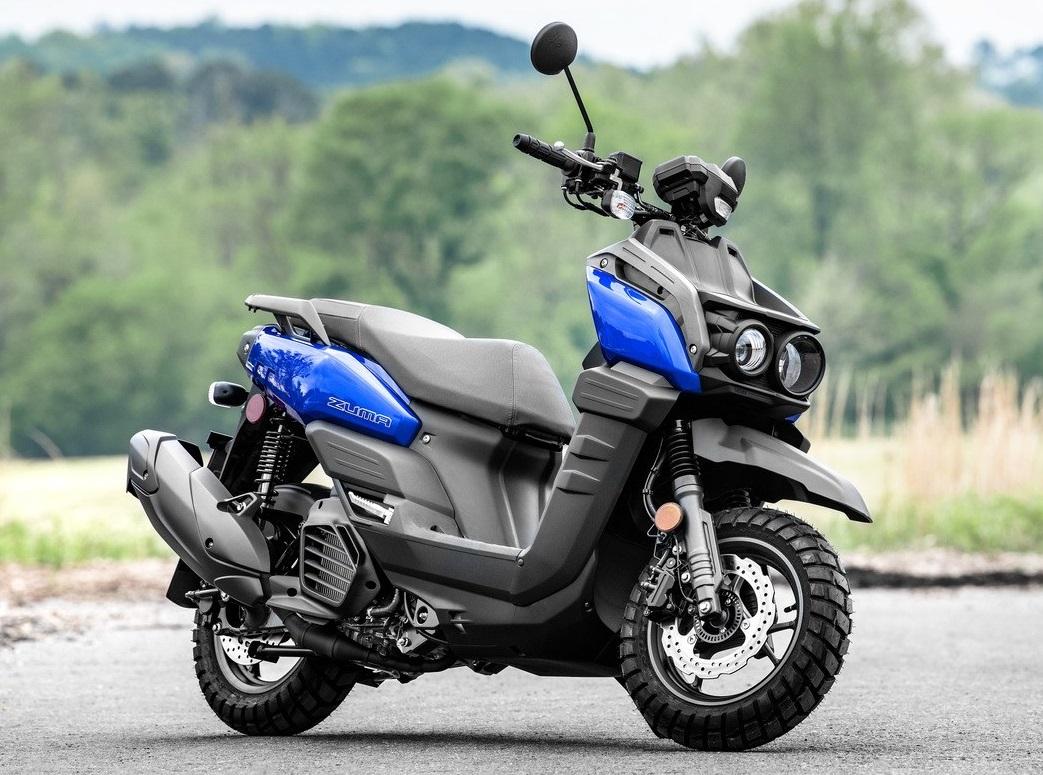 051821 2022 Yamaha Zuma 125 Team Yamaha Blue Lifestyle1