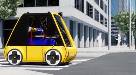 Carro elétrico Ikea Höga