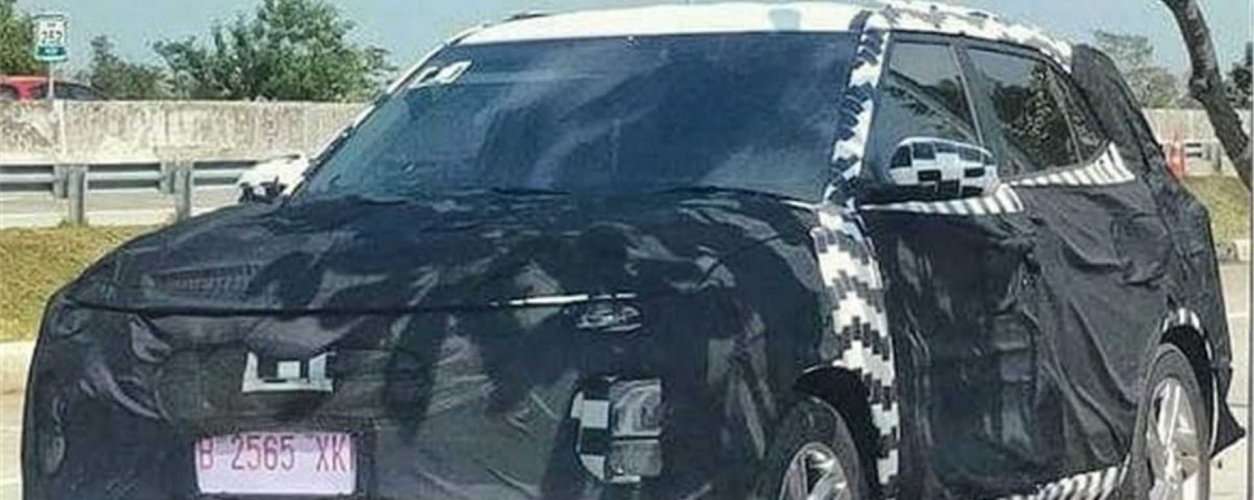 Novo Hyundai Creta Flagra Facelift