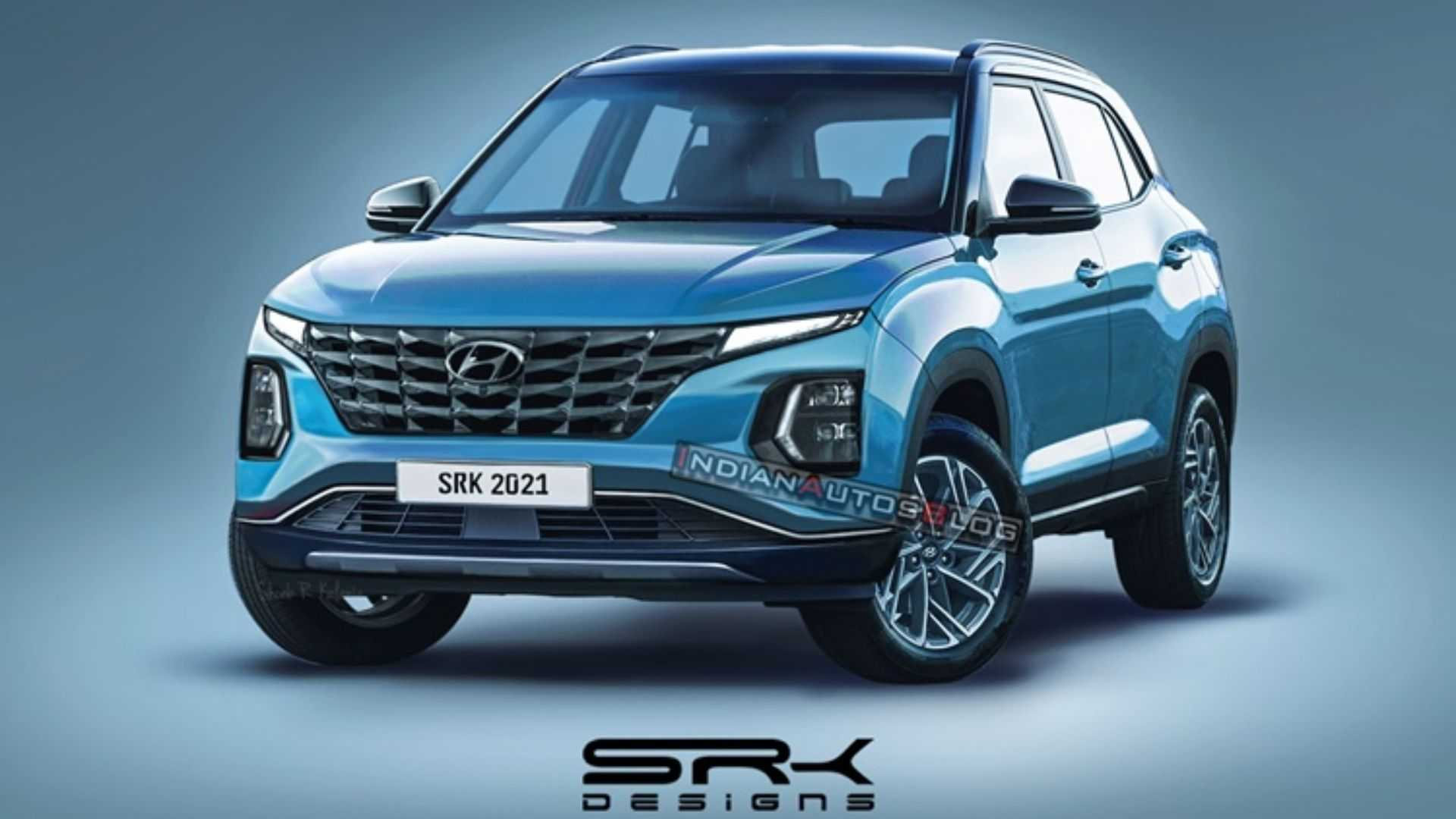 Novo Hyundai Creta Facelift Projecao