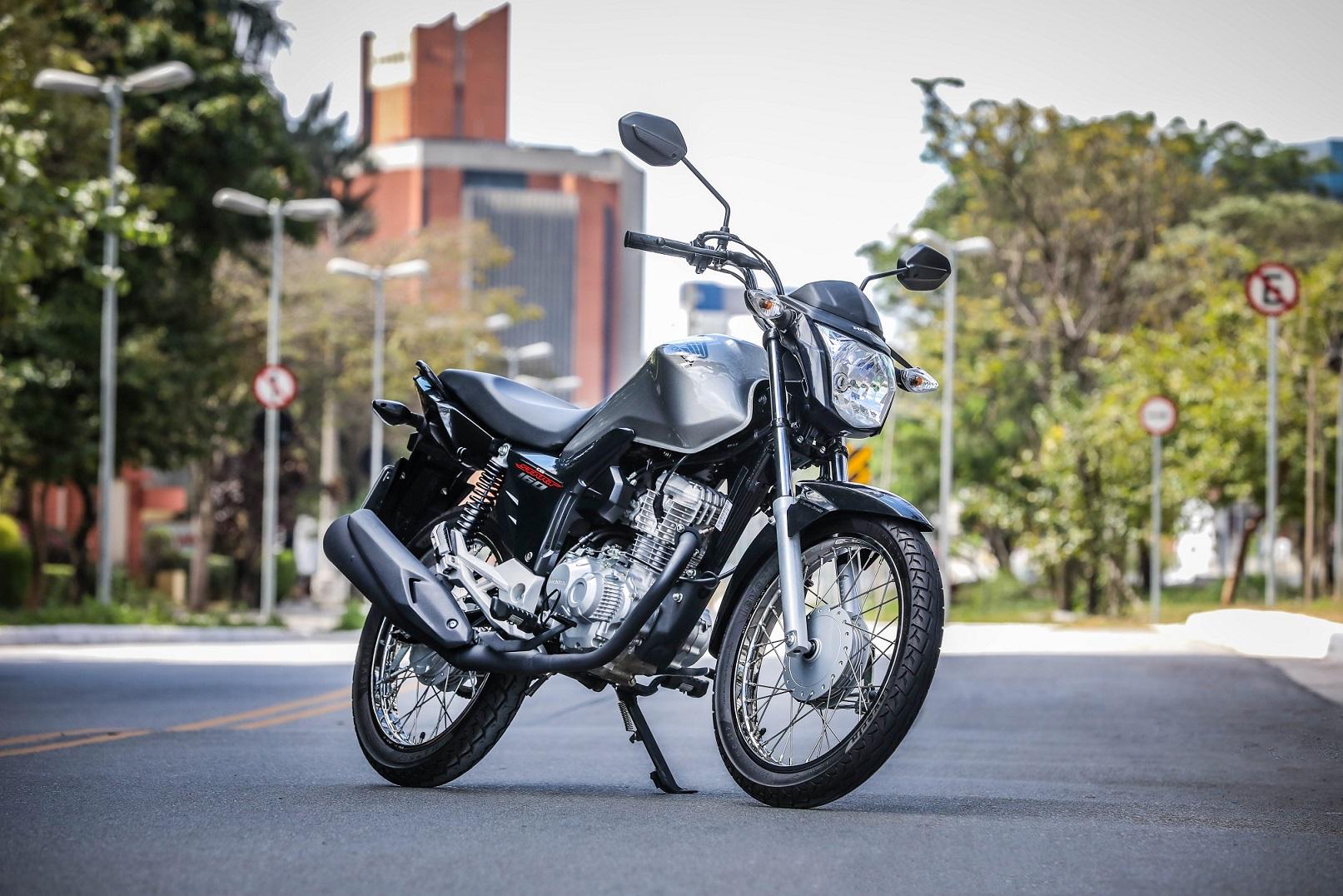 5. Honda Cg 160 Start