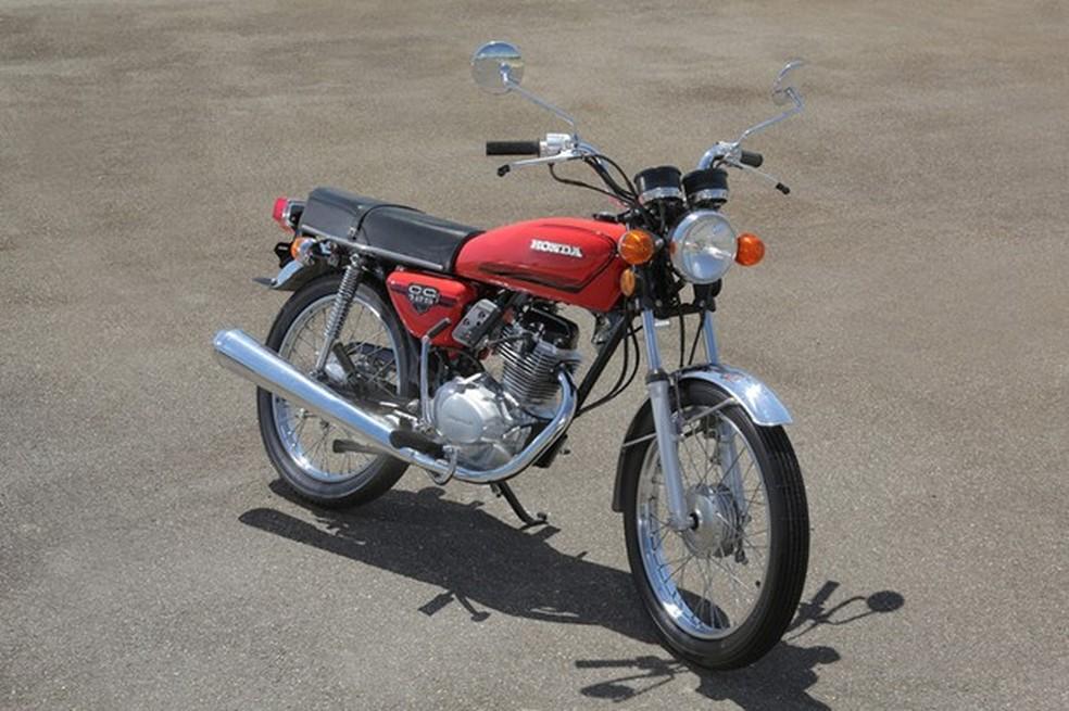 1. Honda Cg Primeira Geração 1976