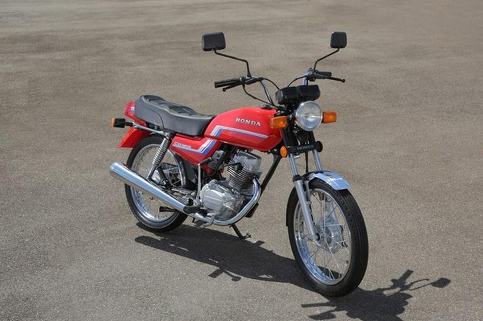 2. Honda Cg Segunda Geração 1983