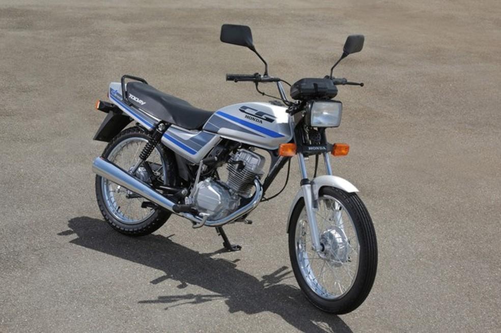 3. Honda Cg Terceira Geração Cg Today 1989
