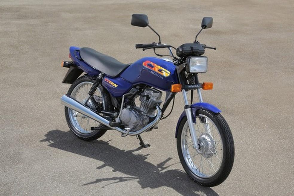 4. Honda Cg Quarta Geração Titan 1994