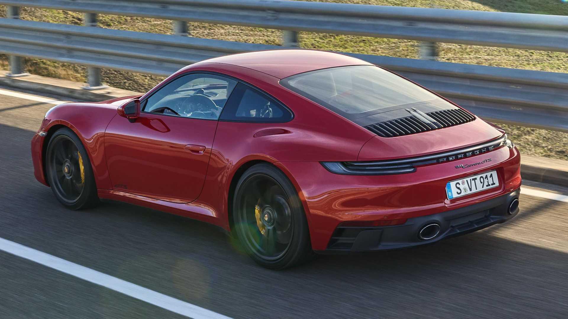 2022 Porsche 911 Carrera Gts Rear 3 4