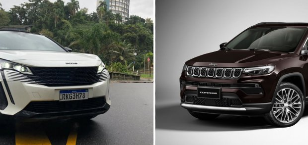 Peugeot 3008 vs. Jeep Compass