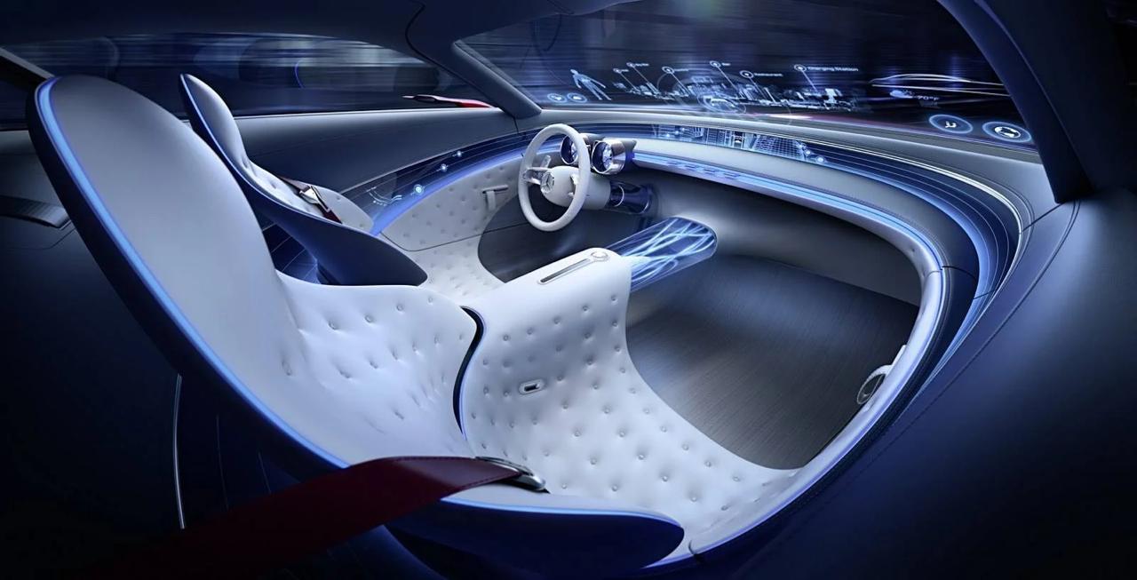 Vision Mercedes-Maybach 6- Batmóvel