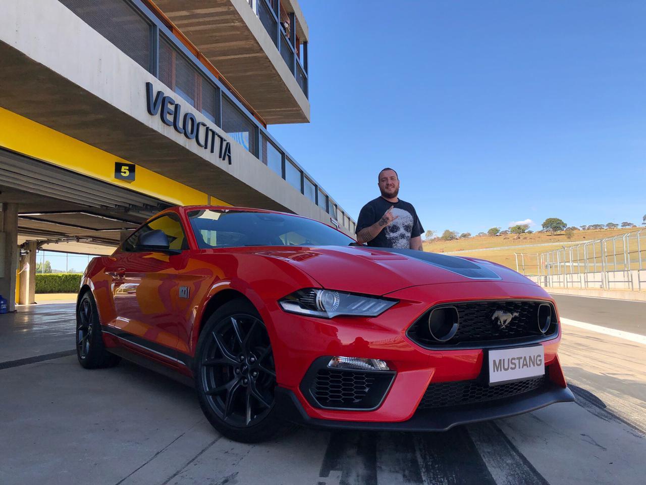 Mustang Mach1 No Velocittà