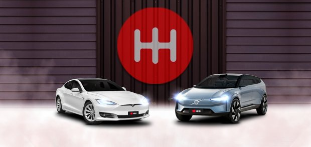 Tesla Model S x Volvo Concept Recharge
