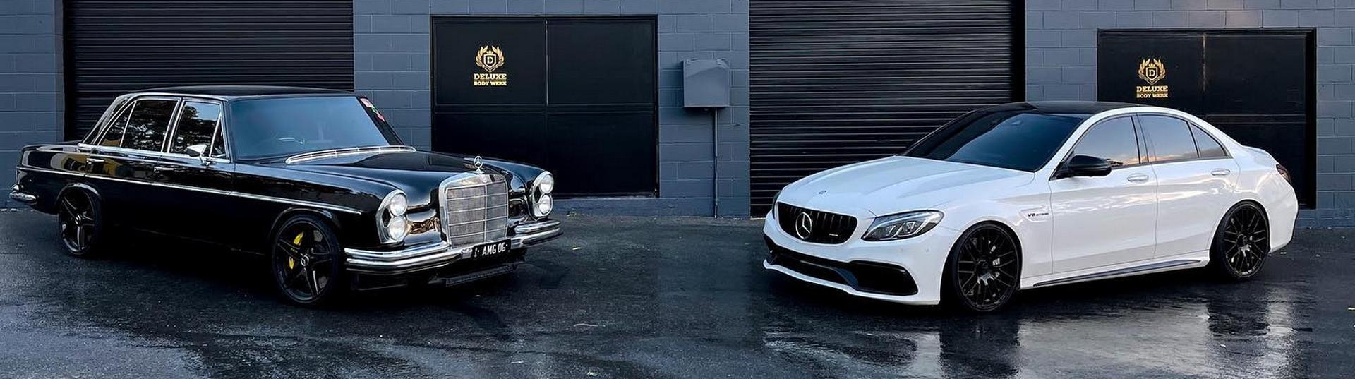 Mercedes-Benz 205s 1968 e C63 S 2017
