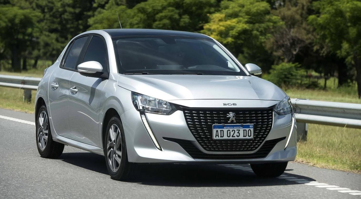 Peugeot 208 é fabricado na Argentina