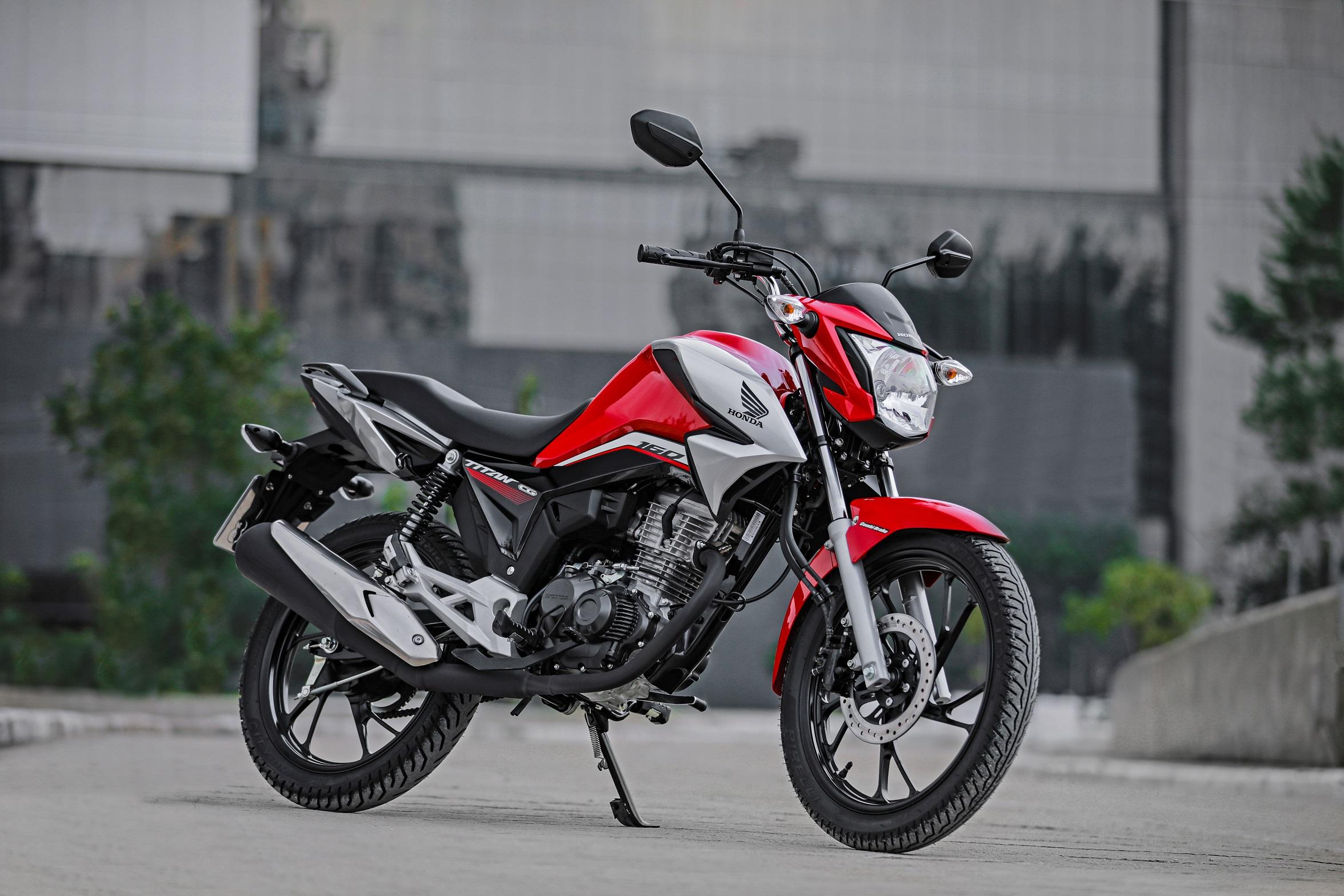 1. Honda Cg 160 Titan - motos mais vendidas