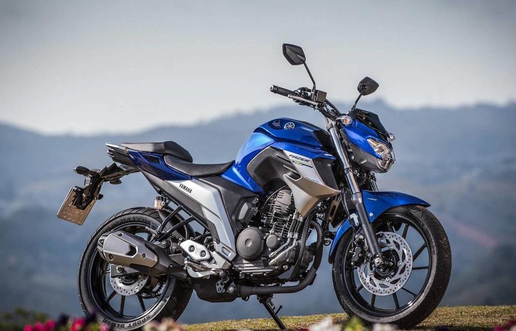 2. Yamaha Fazer 250 - motos mais vendidas