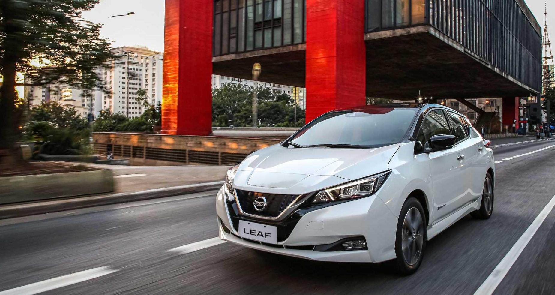Nissan Leaf é um dos elétricos à venda no Brasil