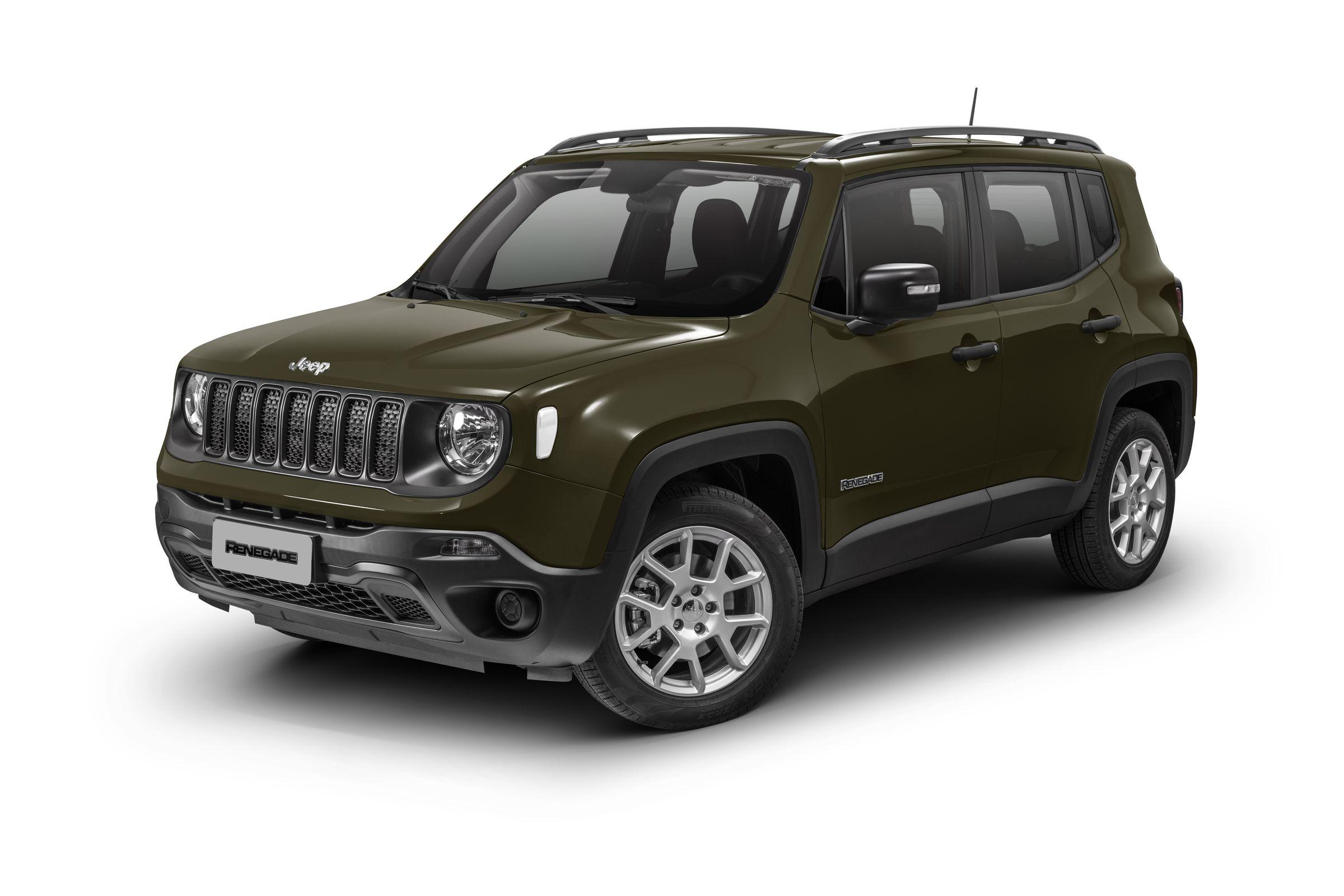 Renegade Sport é uma das versões com desconto oferecidas pela Jeep