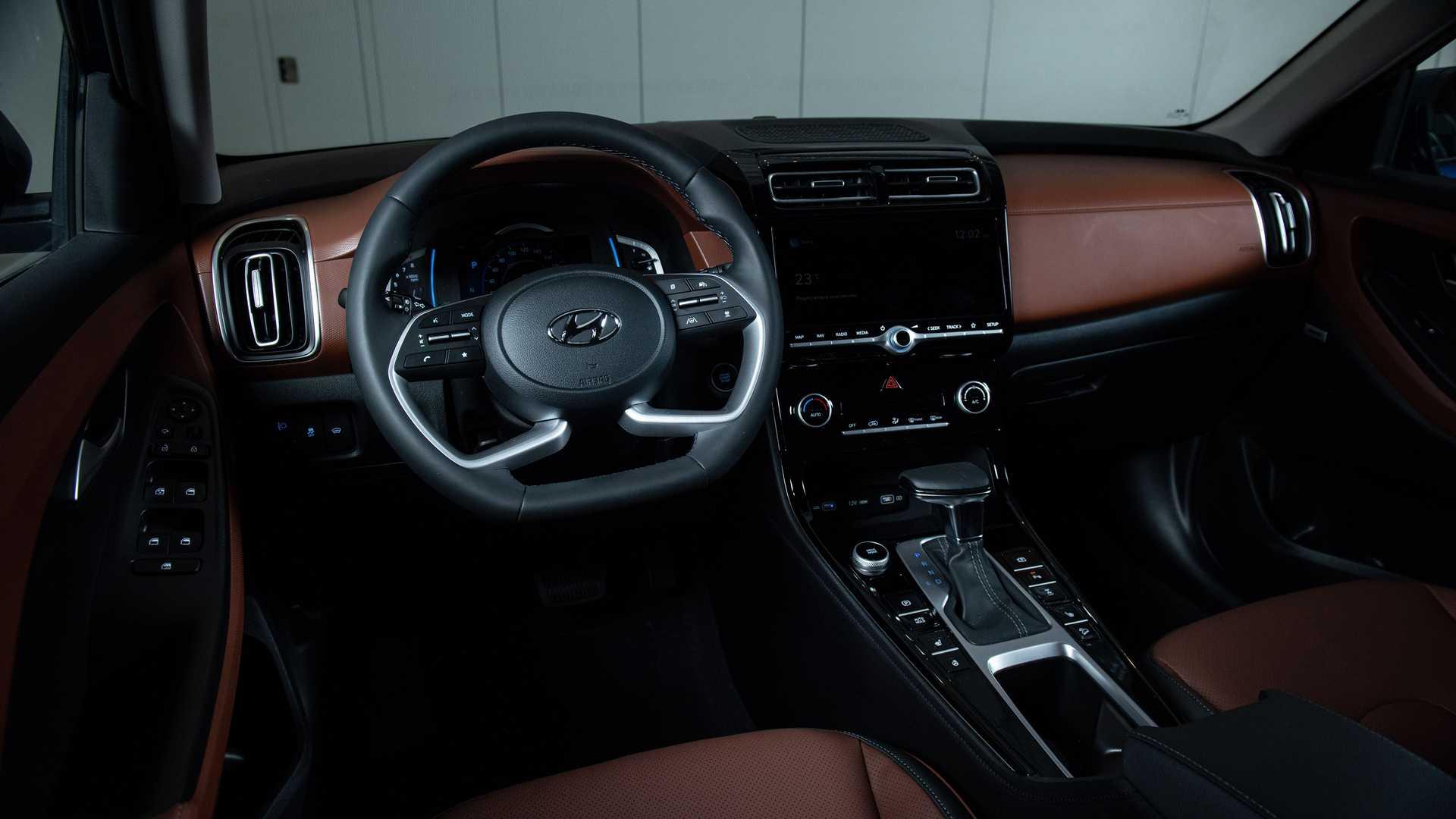 Interior do novo Hyundai Creta russo