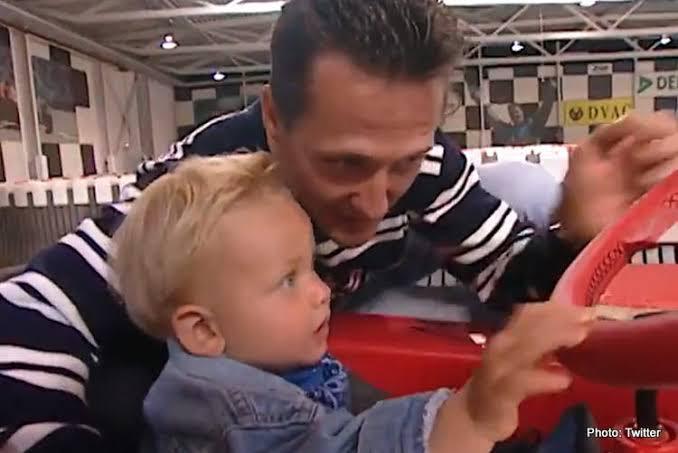 Mick E Michael pai e filho na F1