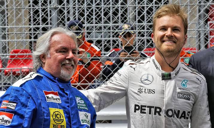 Keke E Nico pai e filho na F1