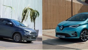 Fiat 500e vs. Renault Zoe