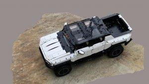 Lego Hummer EV - miniatura funcional do GMC Hummer