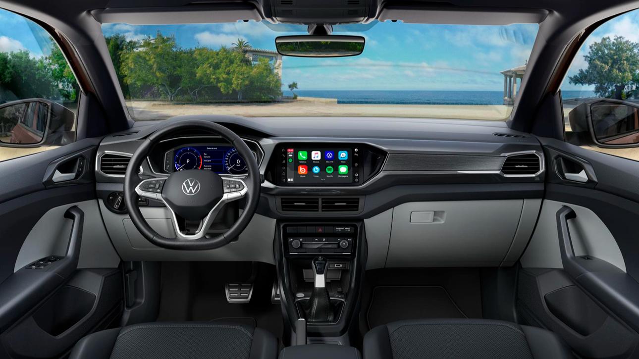 Volkswagen T-Cross ganhou novo volante na linha 2022