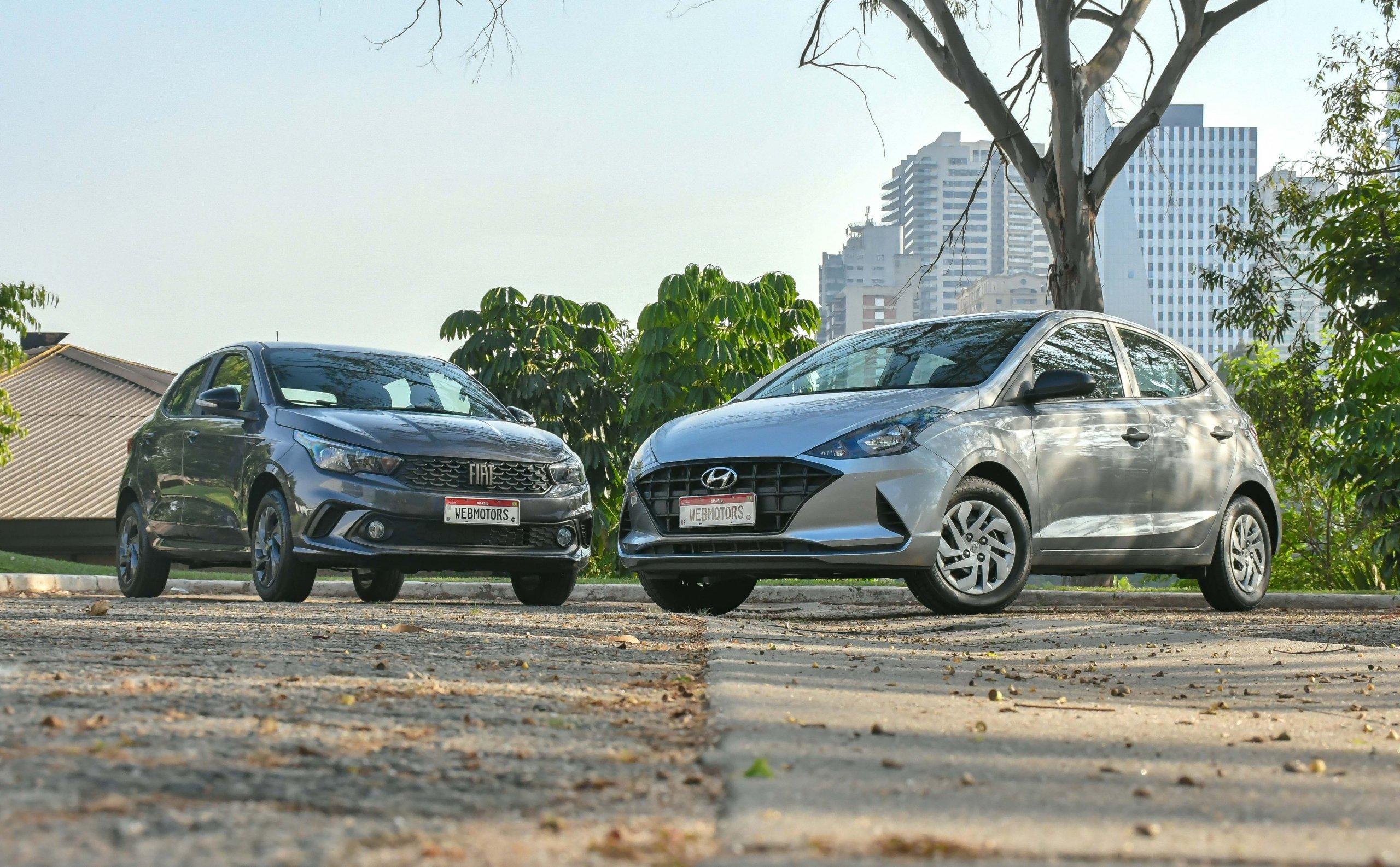 Hyundai Hb20 Evolution 1.0 e Fiat Argo 1.0