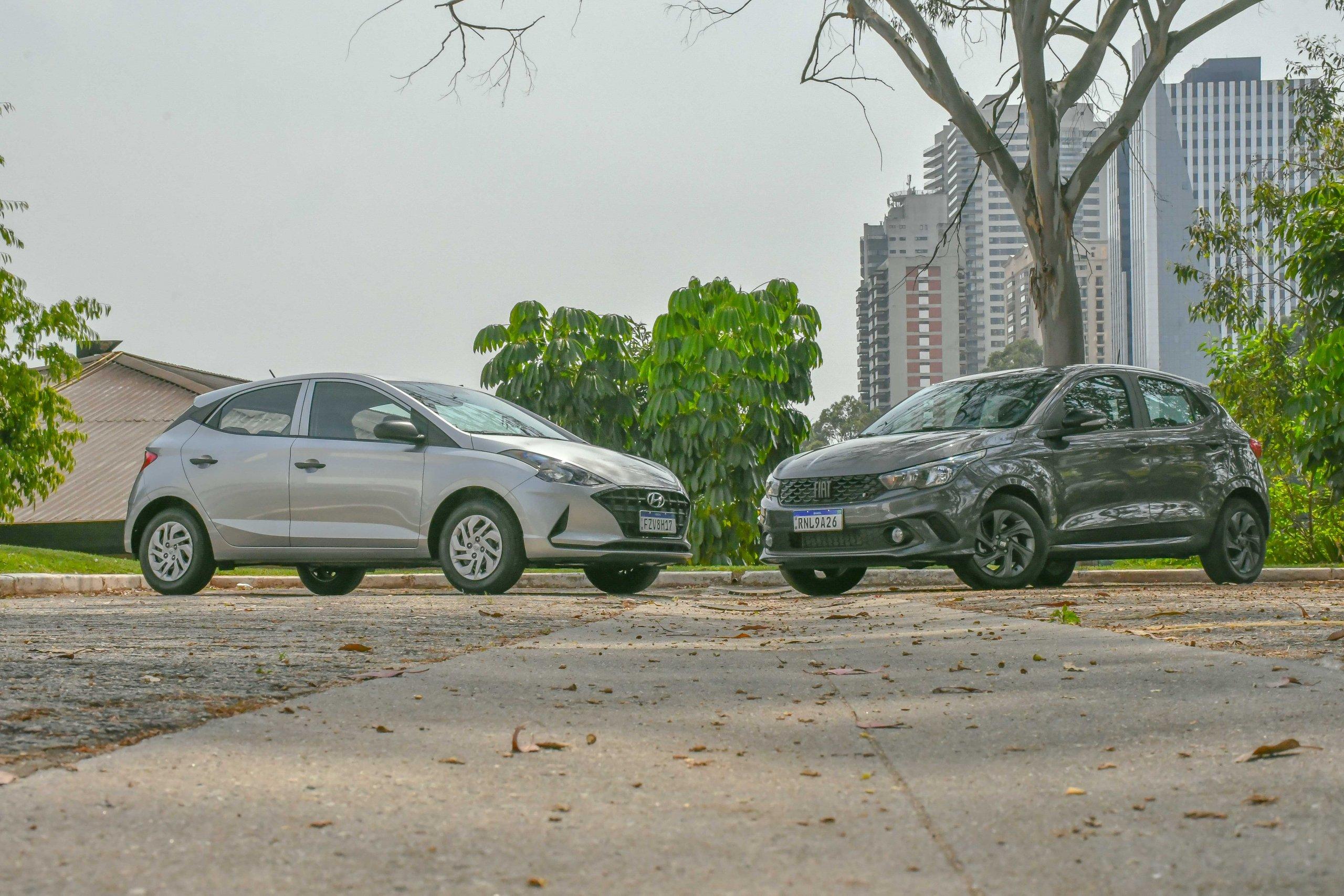 Fiat Argo Drive 1.0 1503 e HB20 1.0