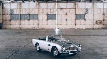 """Réplica Aston Martin DB5 """"Junior"""" do filme 007 Sem Tempo Para Morrer"""
