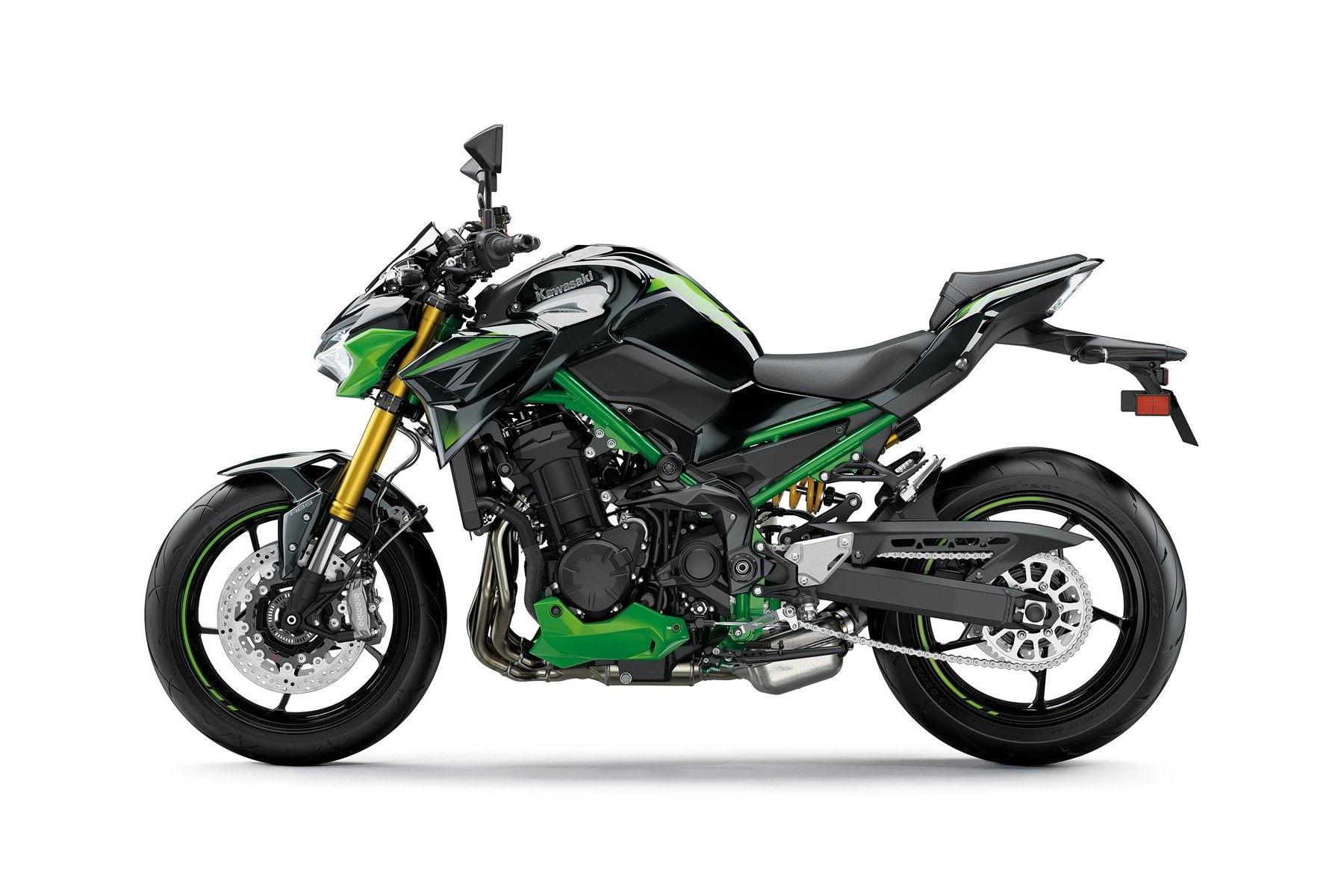2022 Kawasaki Z900 Se Left Side
