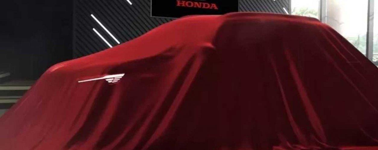 Teaser Do Novo Suv De Entrada Honda