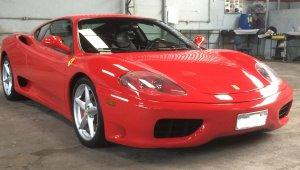 Ferrari F360 3.6 F1 Modena V8 40v Gasolina 2p Manual Wmimagem12004035053